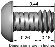 Wimberley SW-AP-414 Lens Replacement Screw